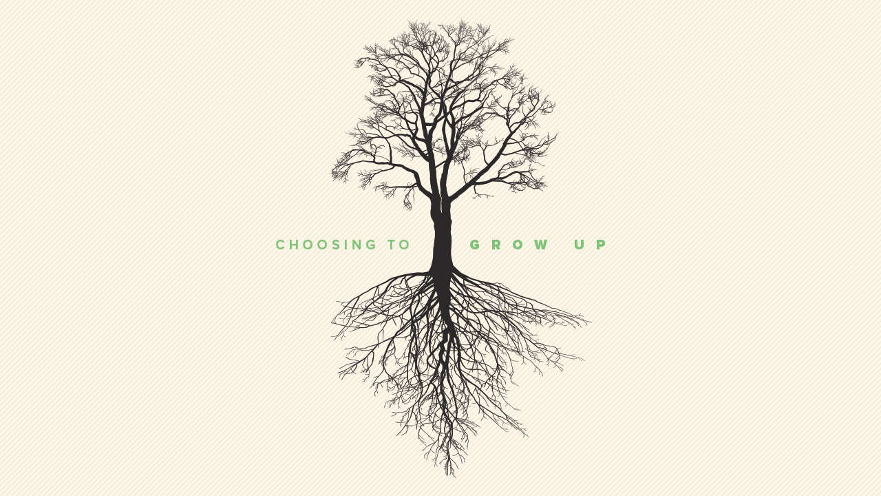 Choosing to Grow Up Jentezen Franklin